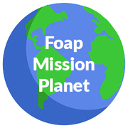 Foap - Mission Planet logo