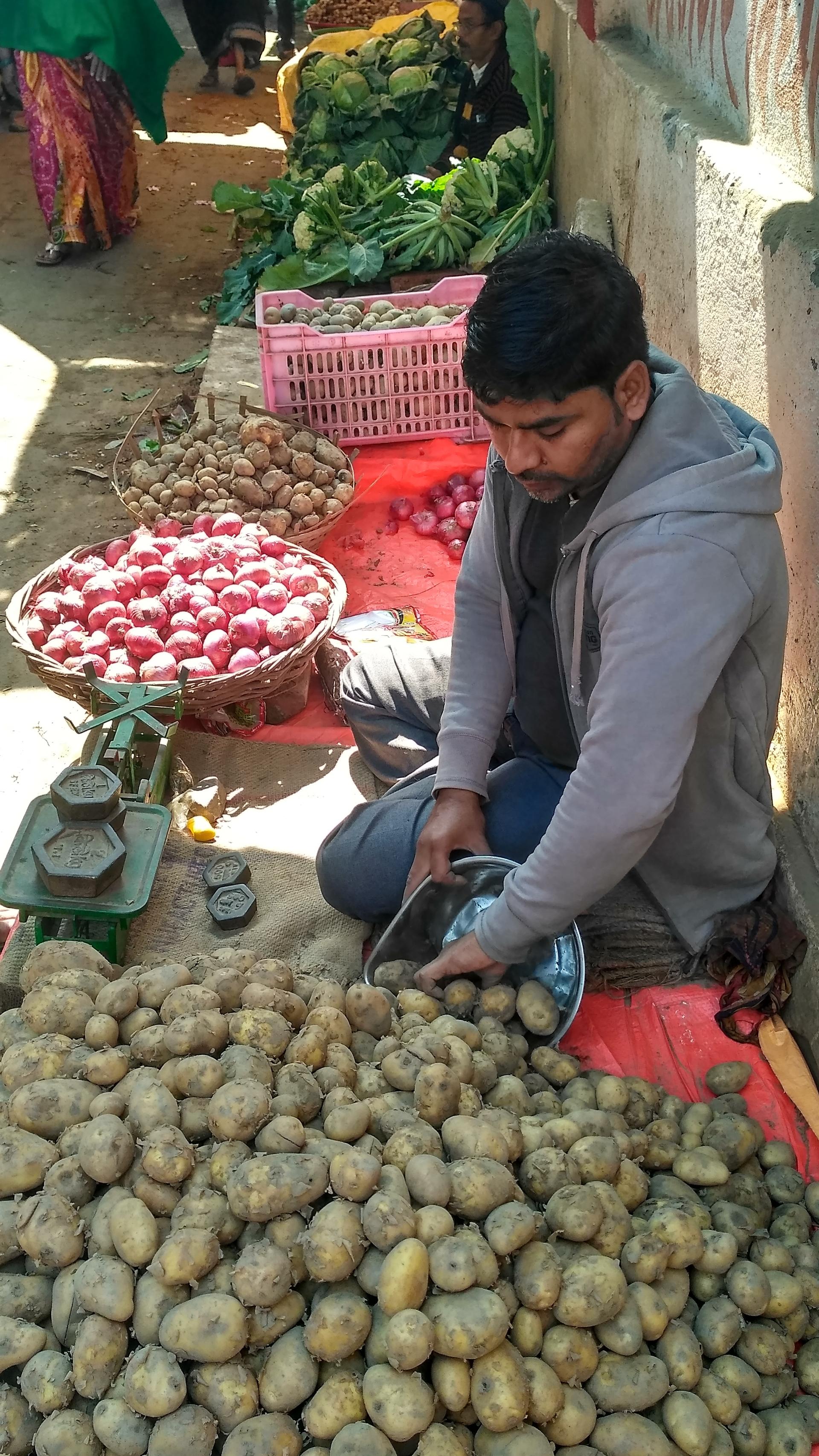 your local market | sunil.kushwaha, seller, men, stall