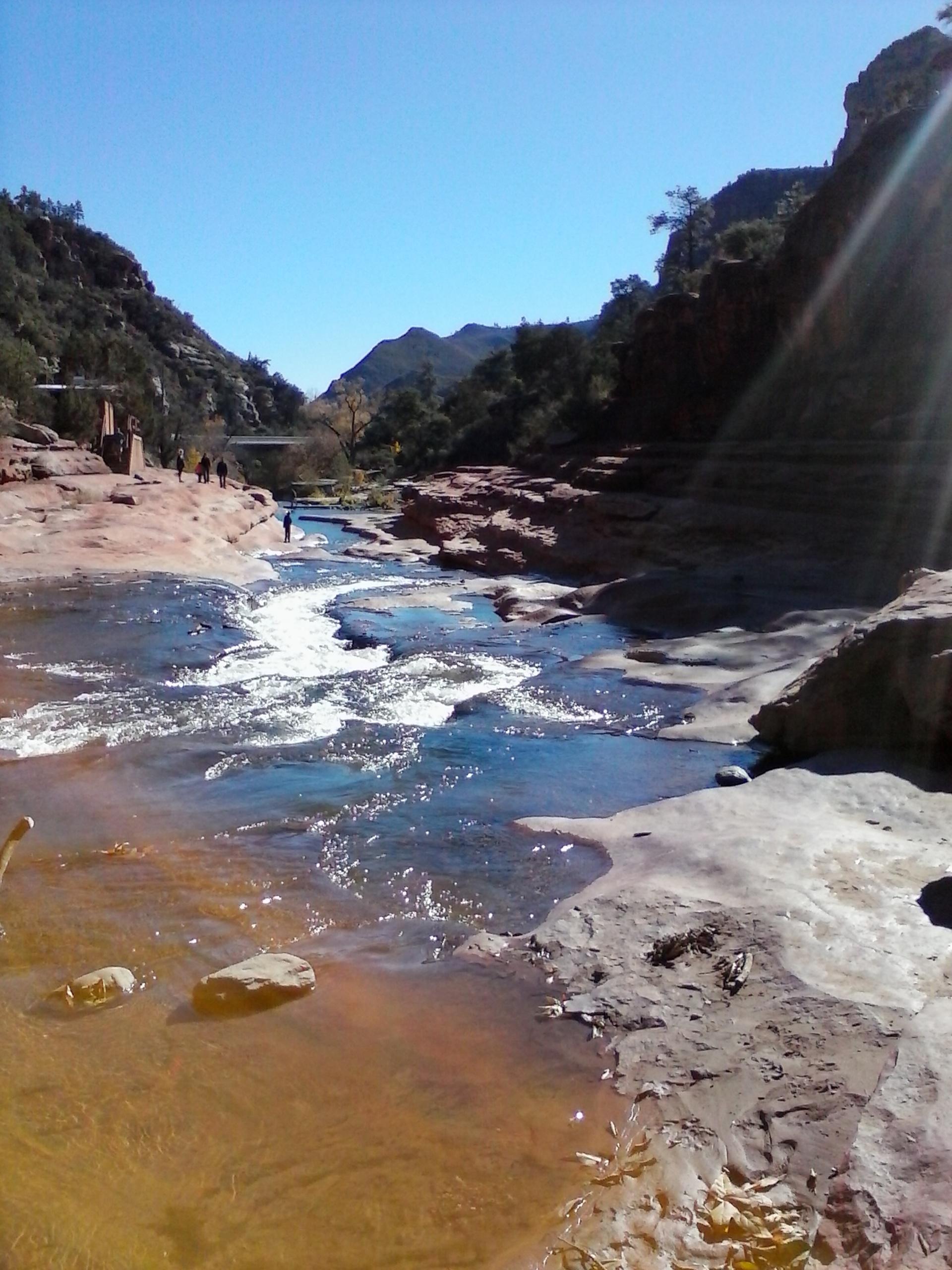 Sedona Arizona Slide Rock Park