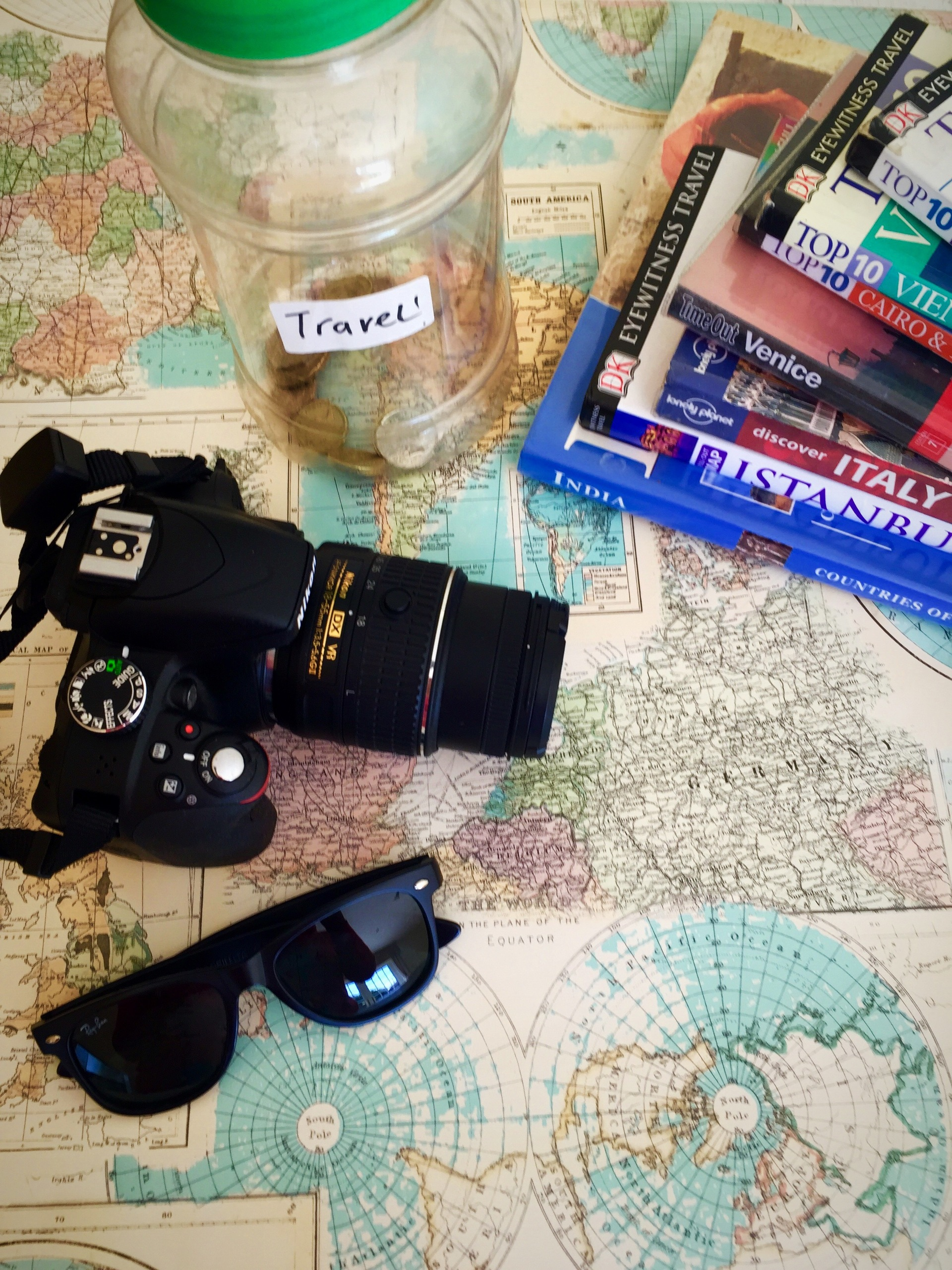 Want to travel the whole world and take lots of pictures