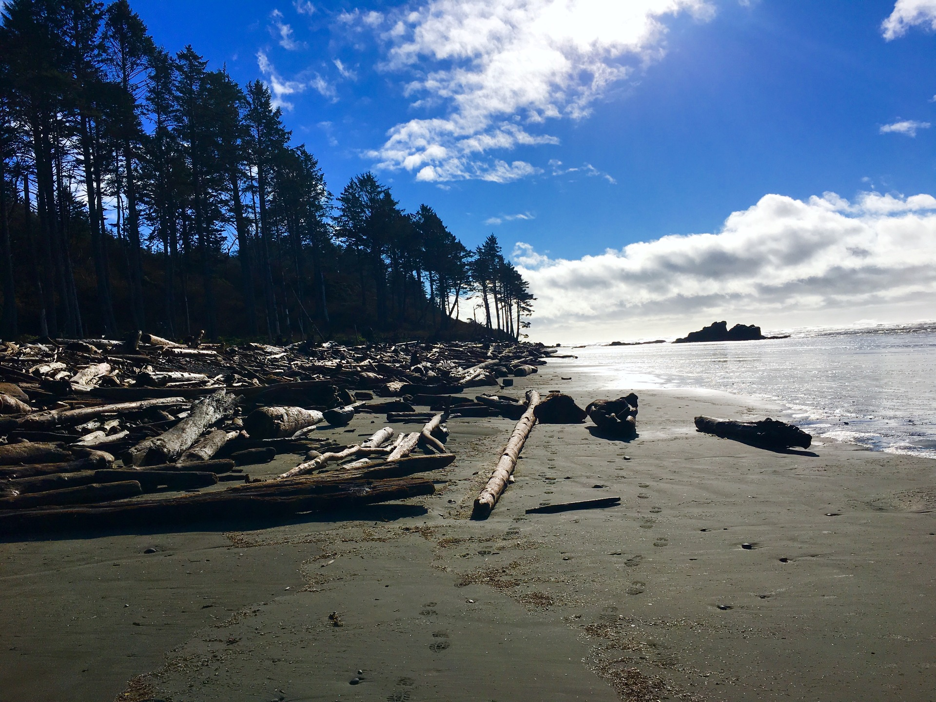Ruby Beach, Pacific Ocean, Olympic Peninsula, Washington State
