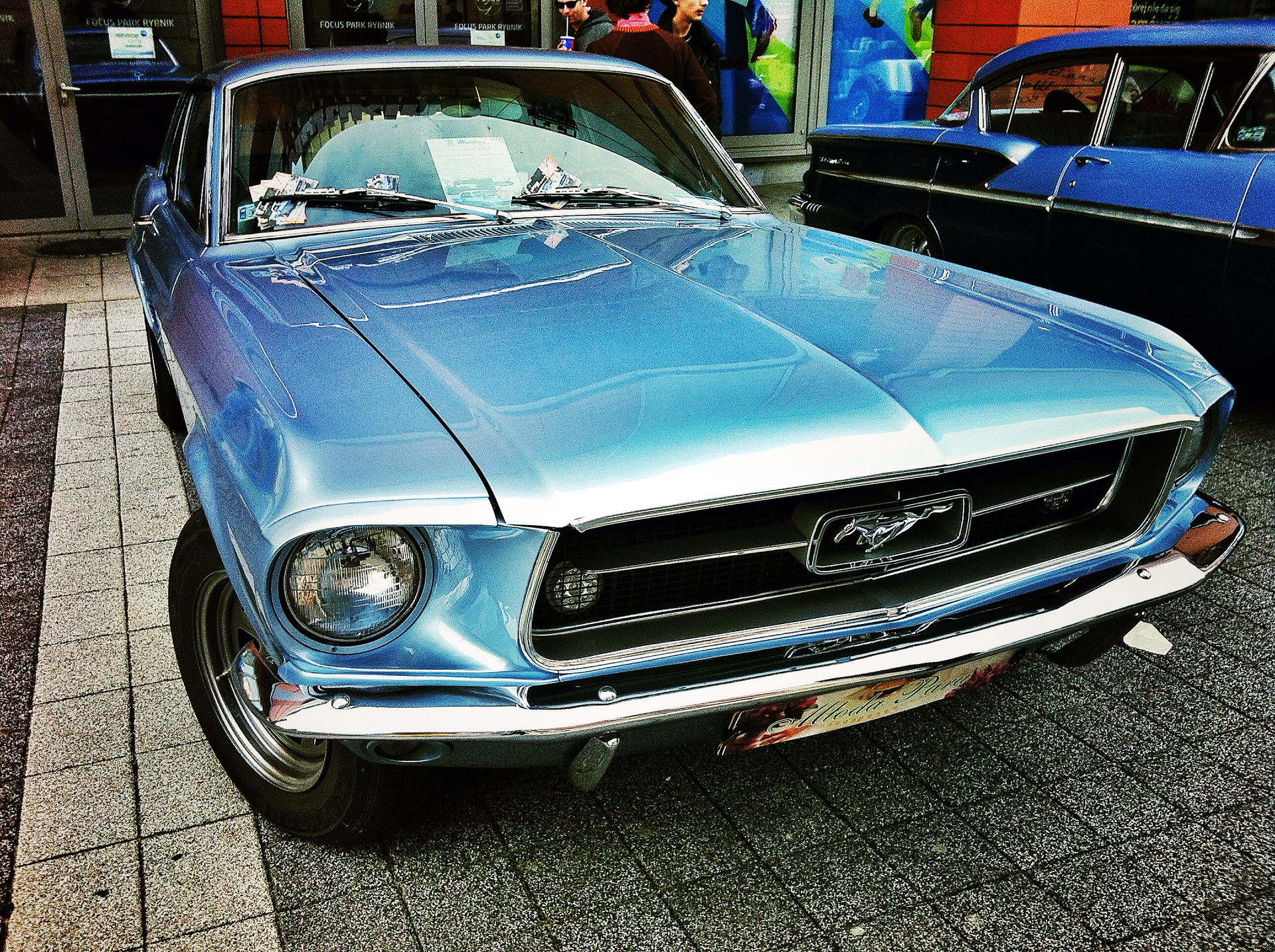 Foap.com: car ride mustang oldcar by mastodon stock photo by mastodon
