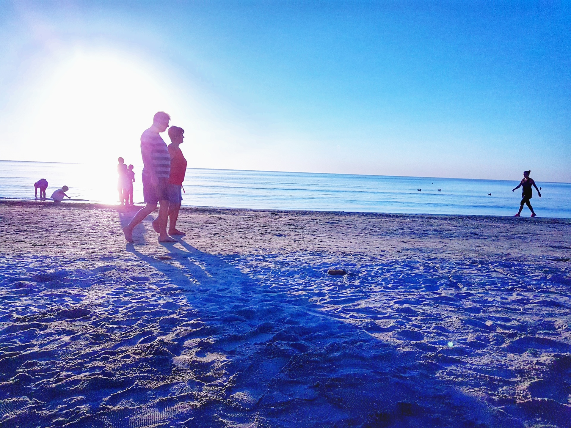 On the beach. | estraub, water, recreation, people