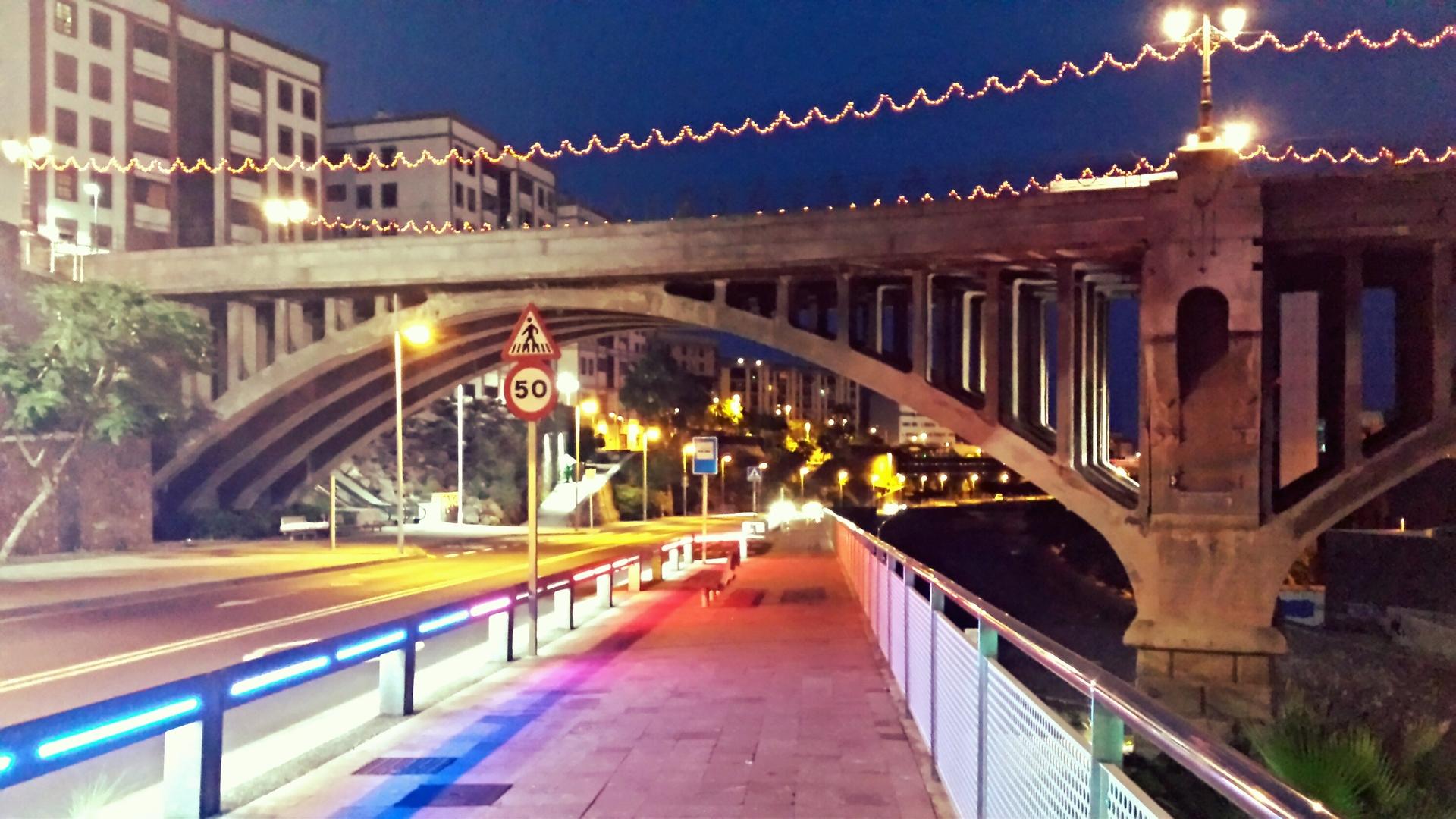 galceran bridge/ puente galceran sc de tenerife