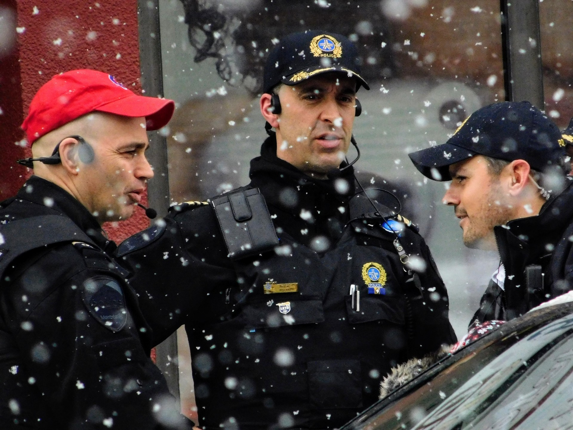 Montreal police | rick.cognyl.fournier, man, outfit, people