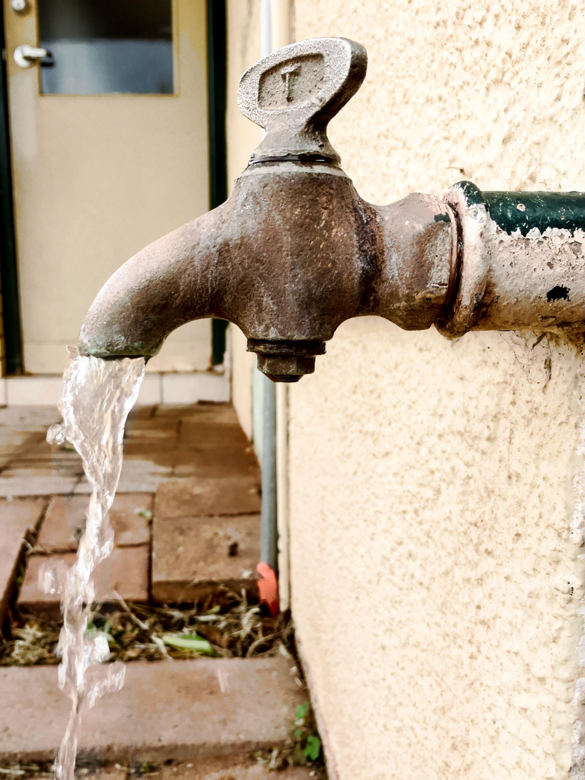 Foap.com: Outdoor water faucet tap spigot pipe, antique, vintage ...