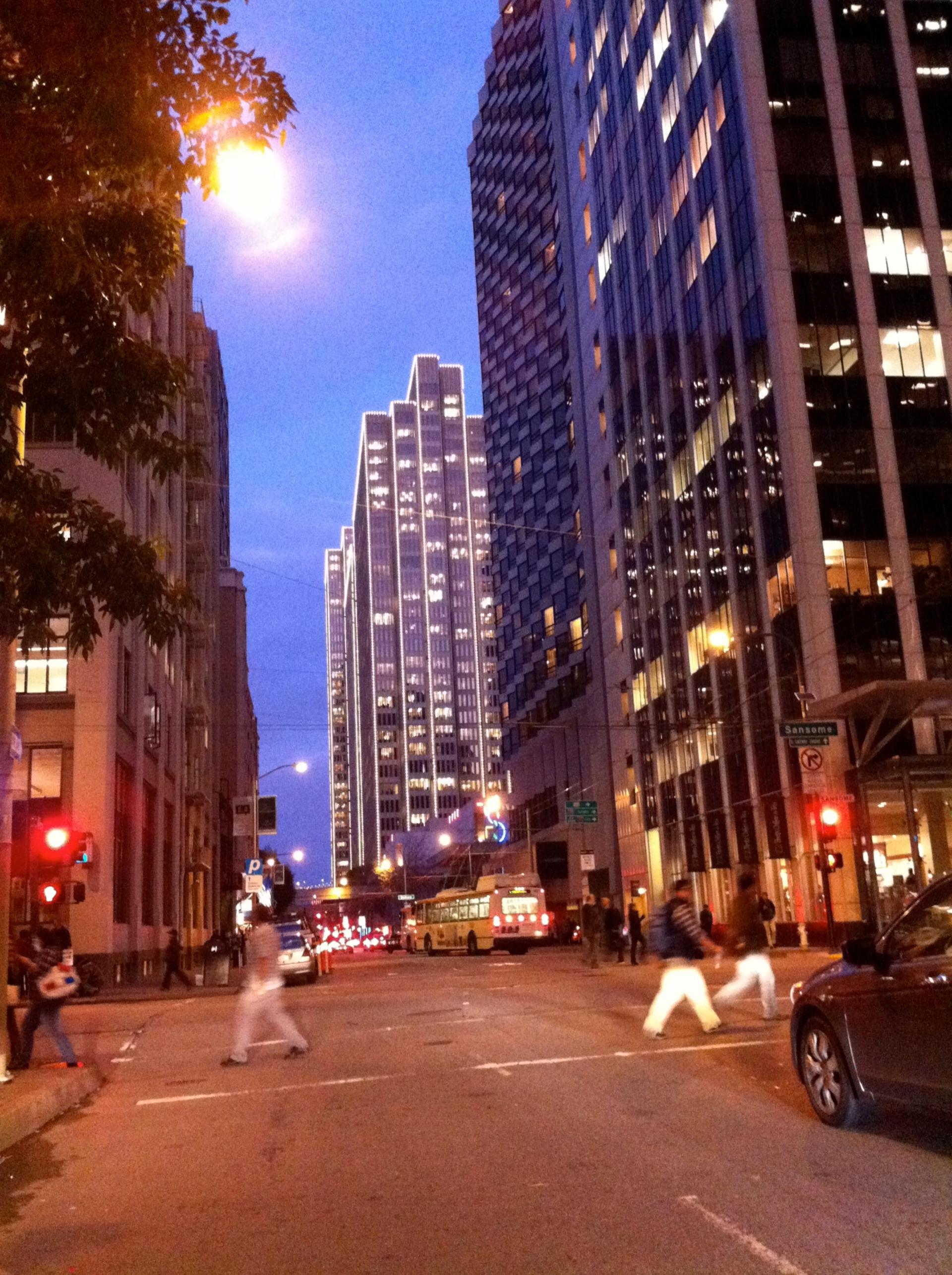 by cedman888   downtown, San Francisco, market street, embarcadero