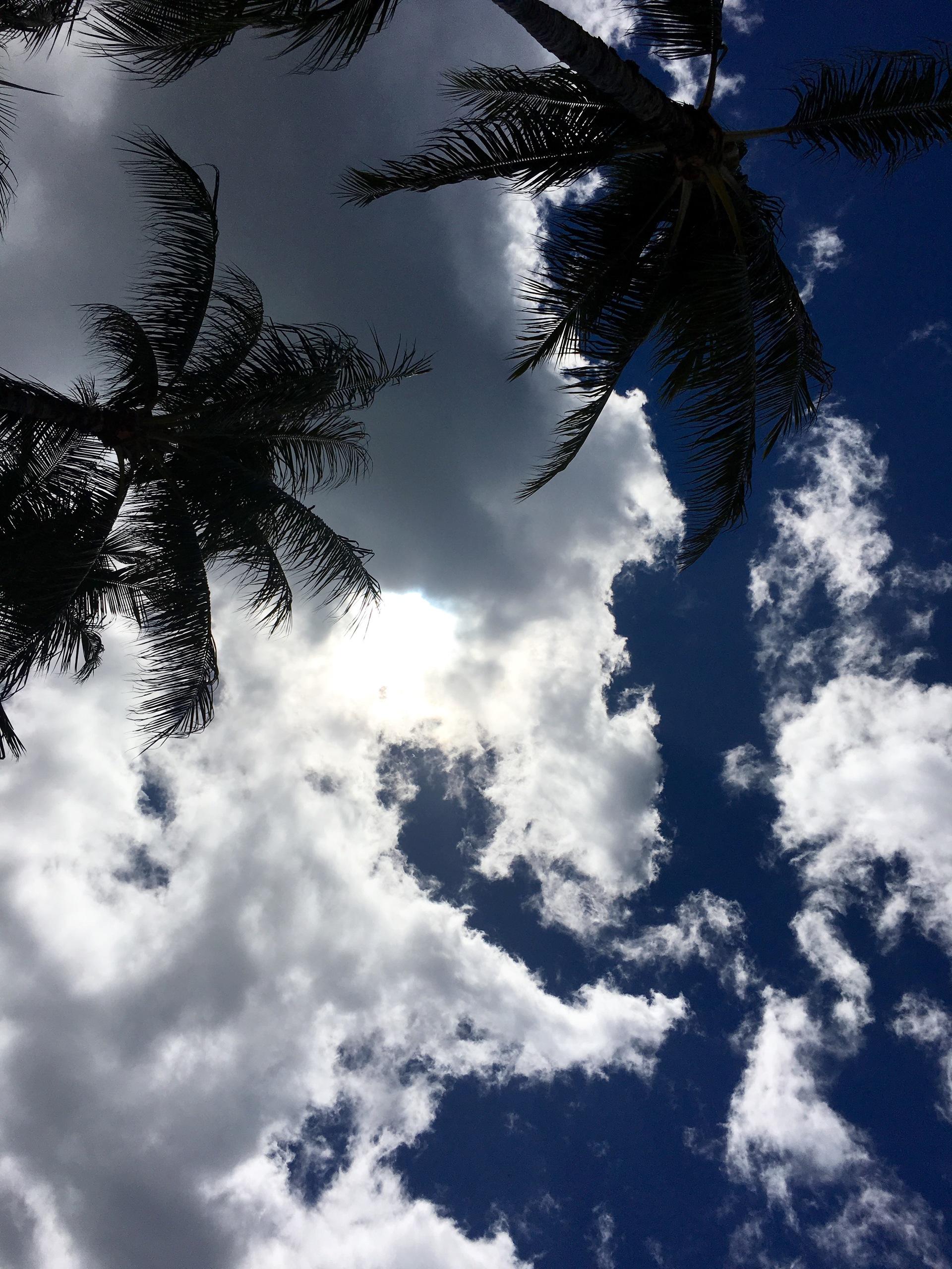 Aloha. Waikiki Beach   ddmarie16, backlit, cloud, heaven