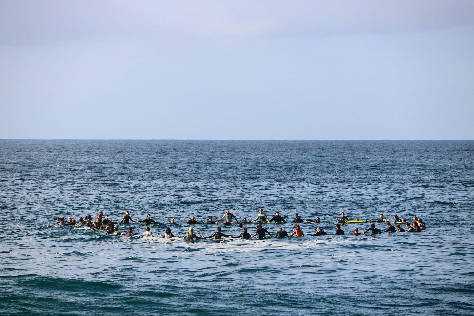 Paddle out...grieving the loss of a 🏄