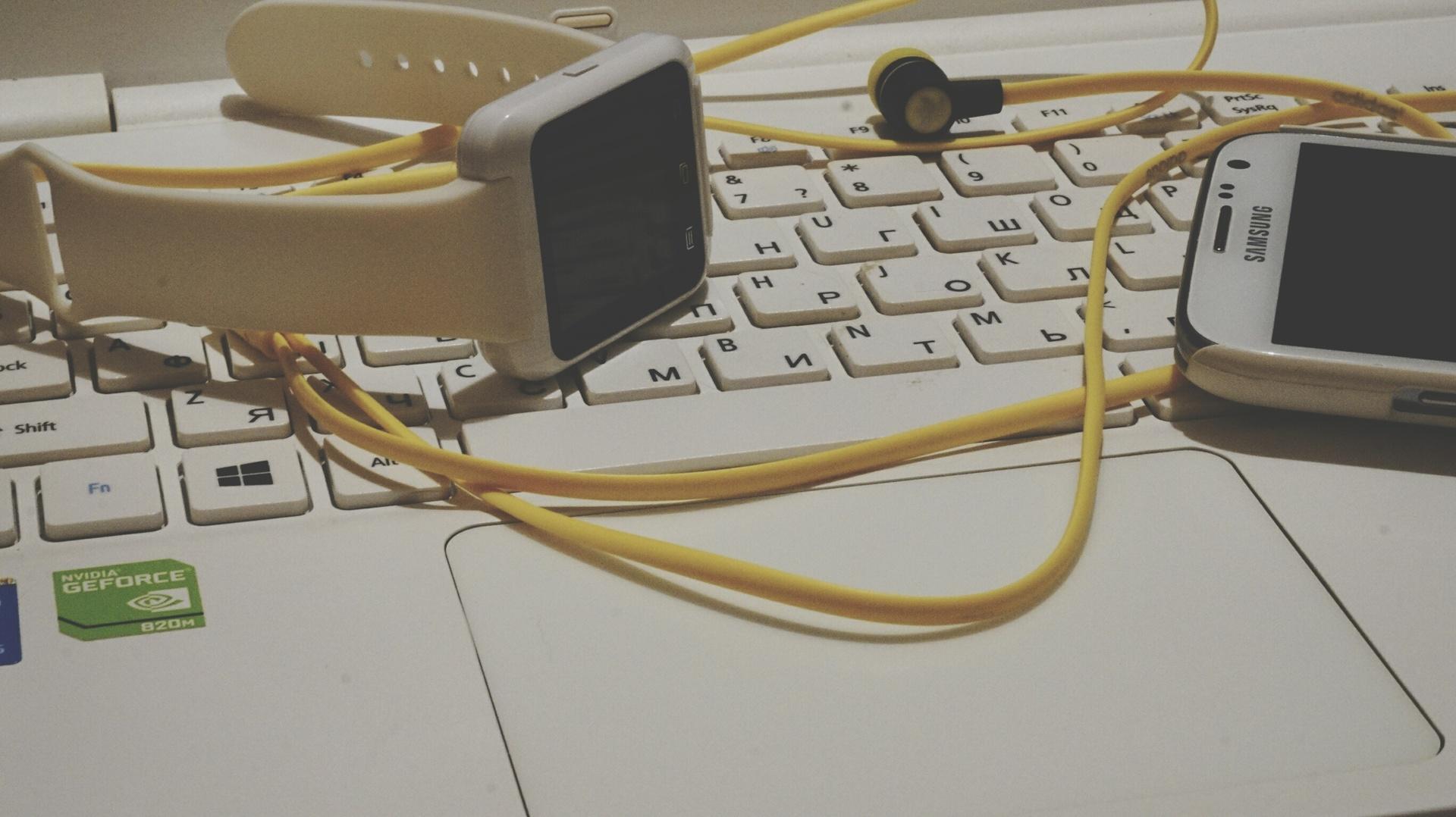 notebook | nastia95, clock, time, keyboard