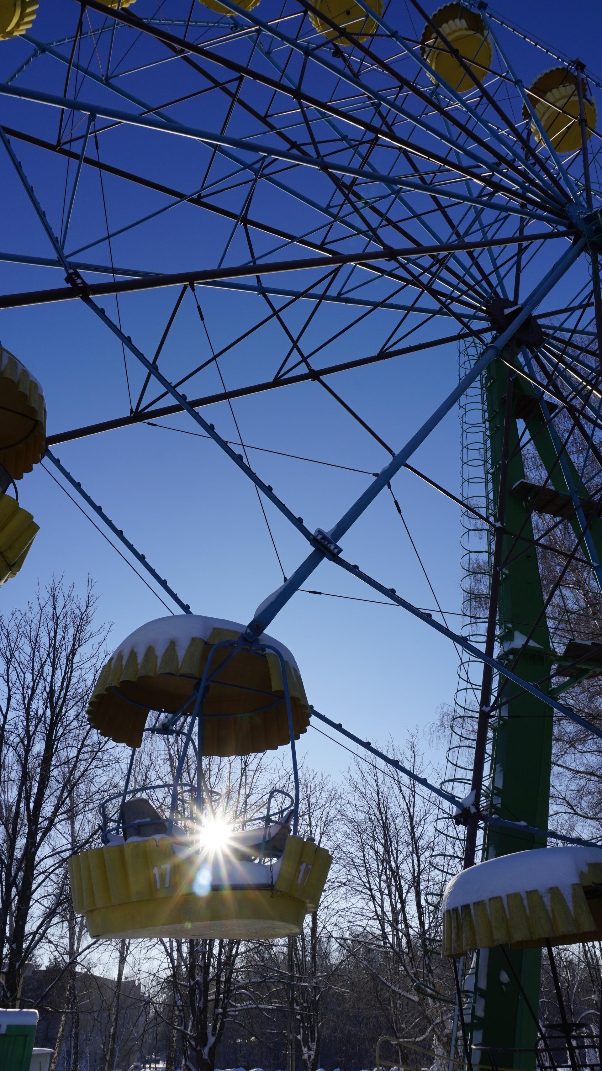 attraction   nastia95, blue sky, bright, business