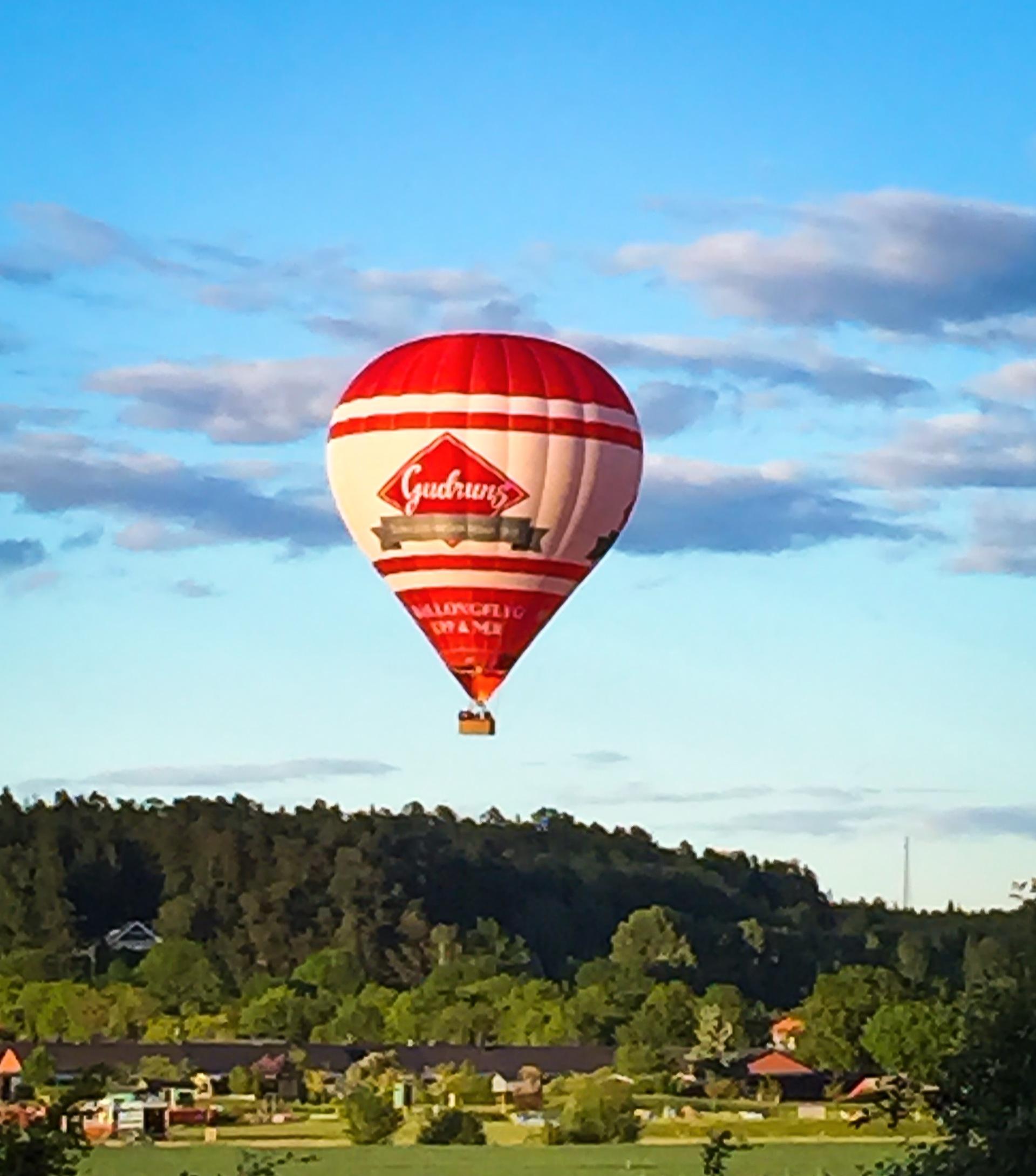 In air. Air balloon