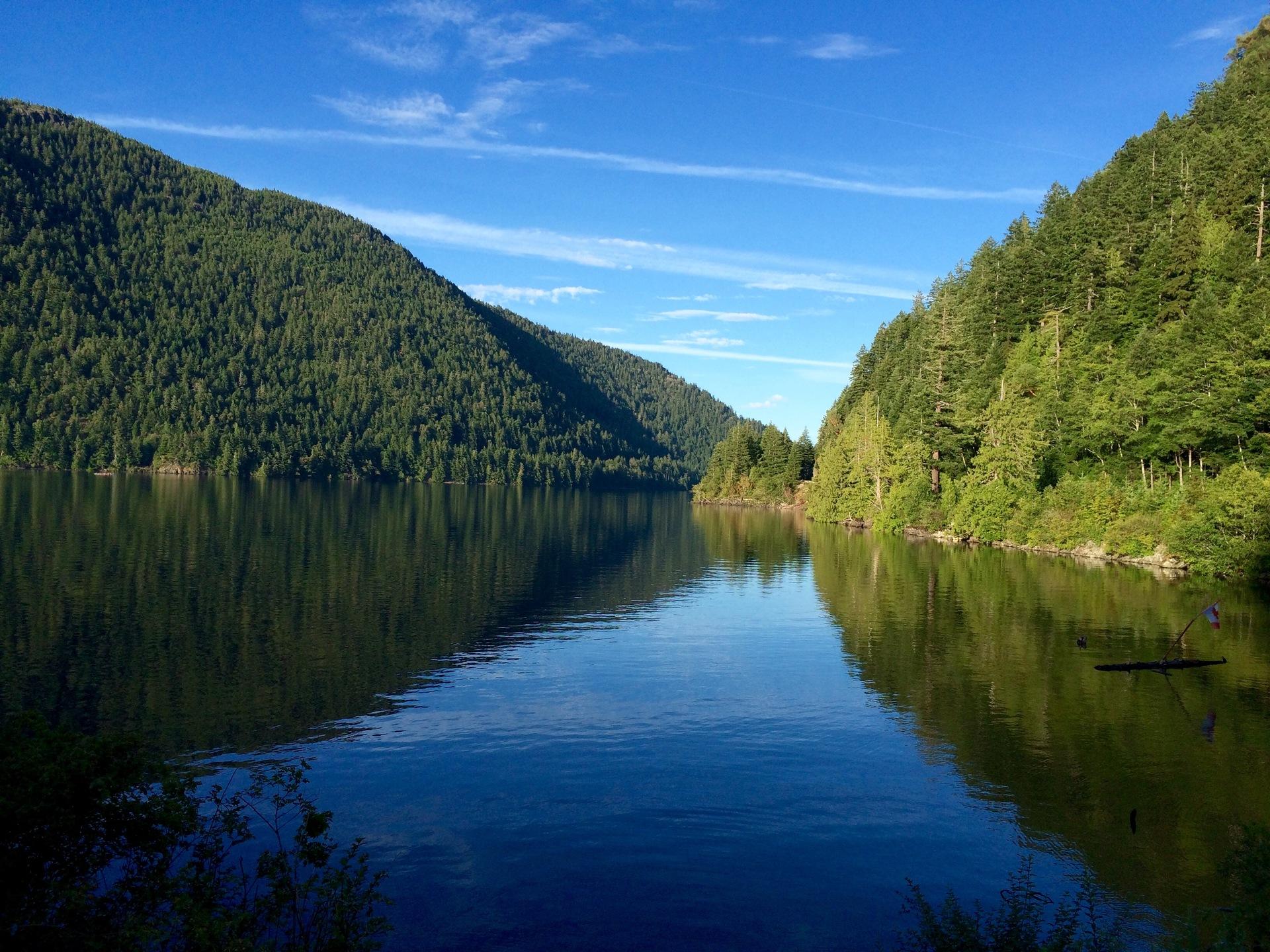Canada 2016 | woodland, water, travel, sky