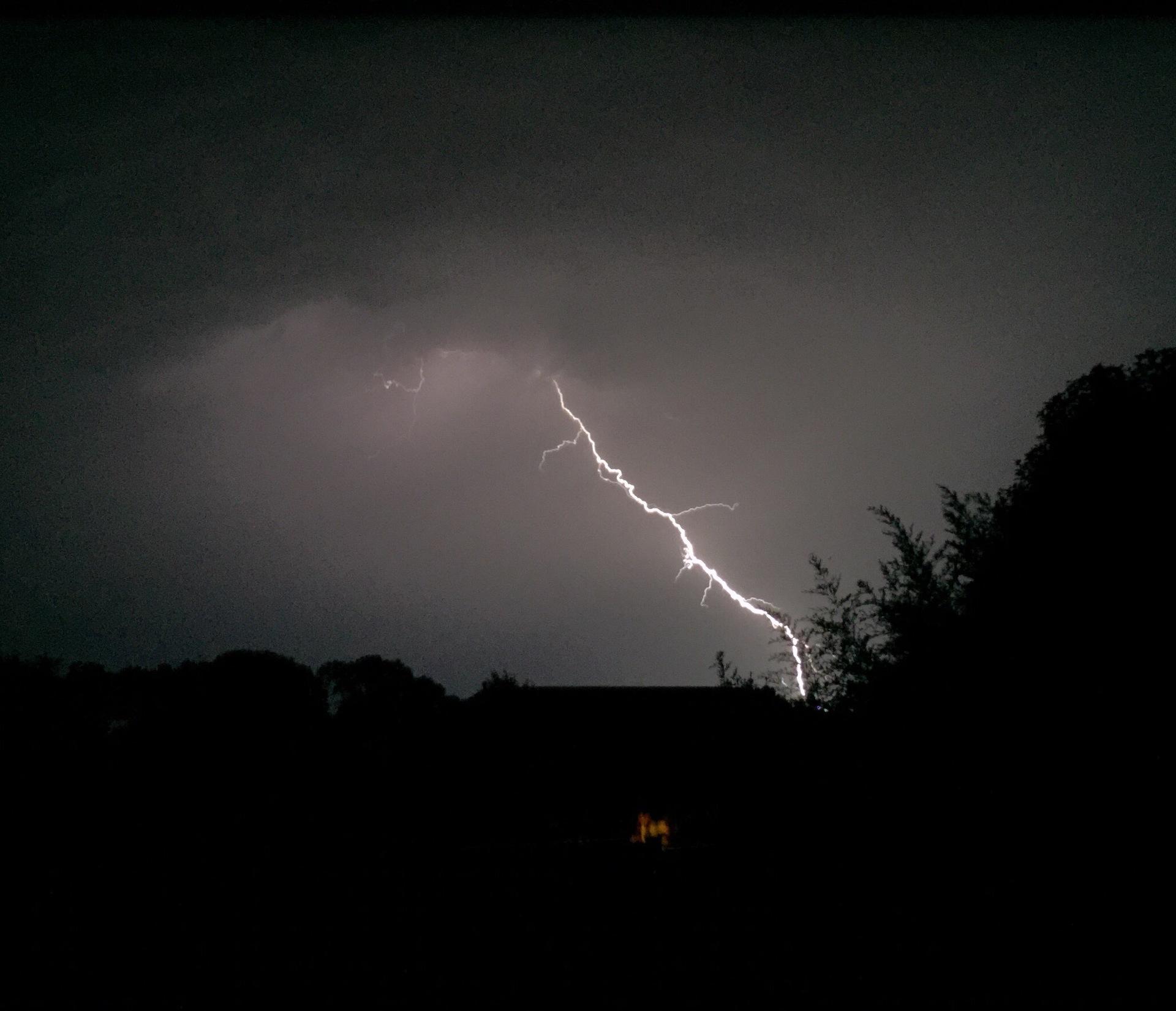 Lightning    fancykrantzy, cloud, evening, outdoors