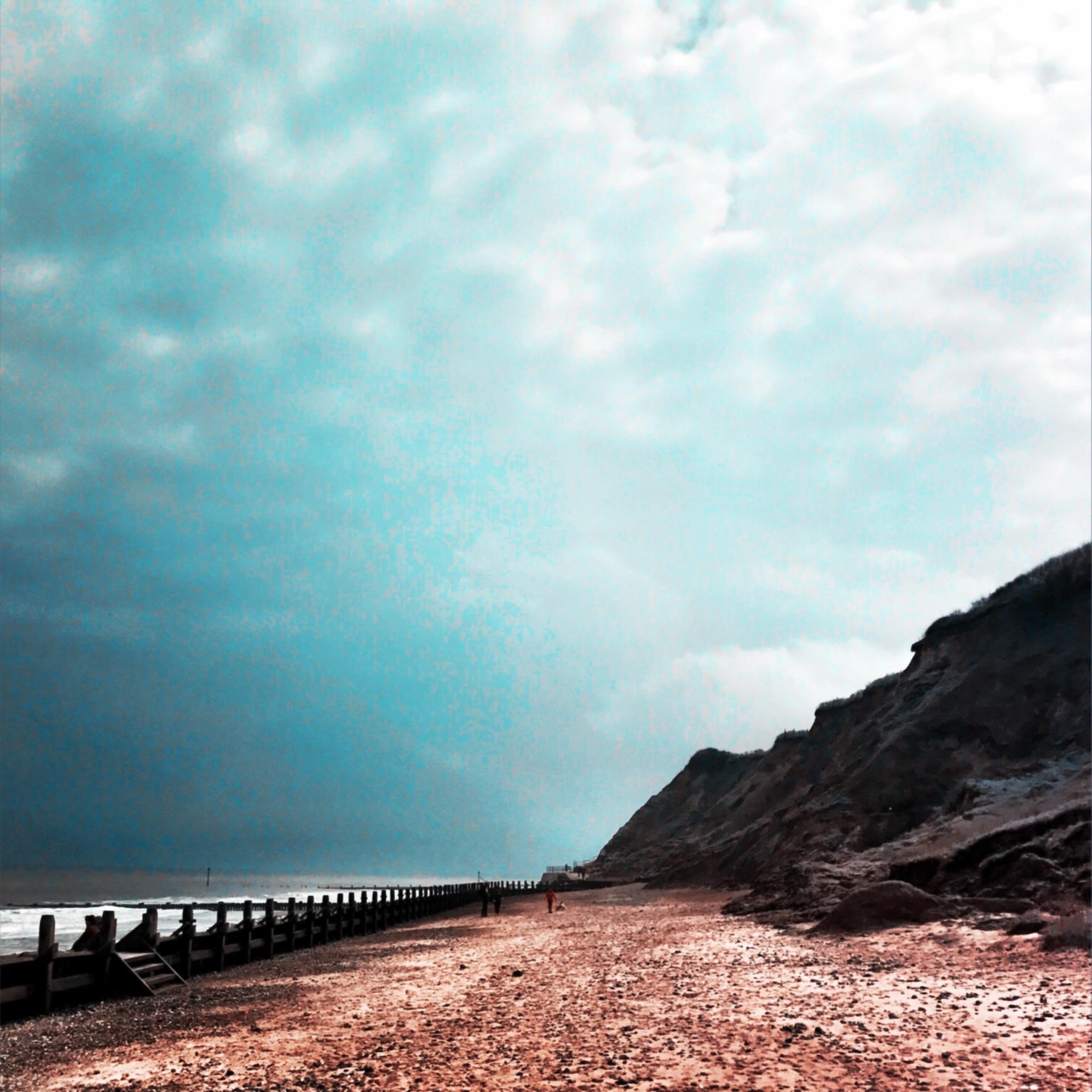 Abstract beach scenic    mezmic, travel, water, sea