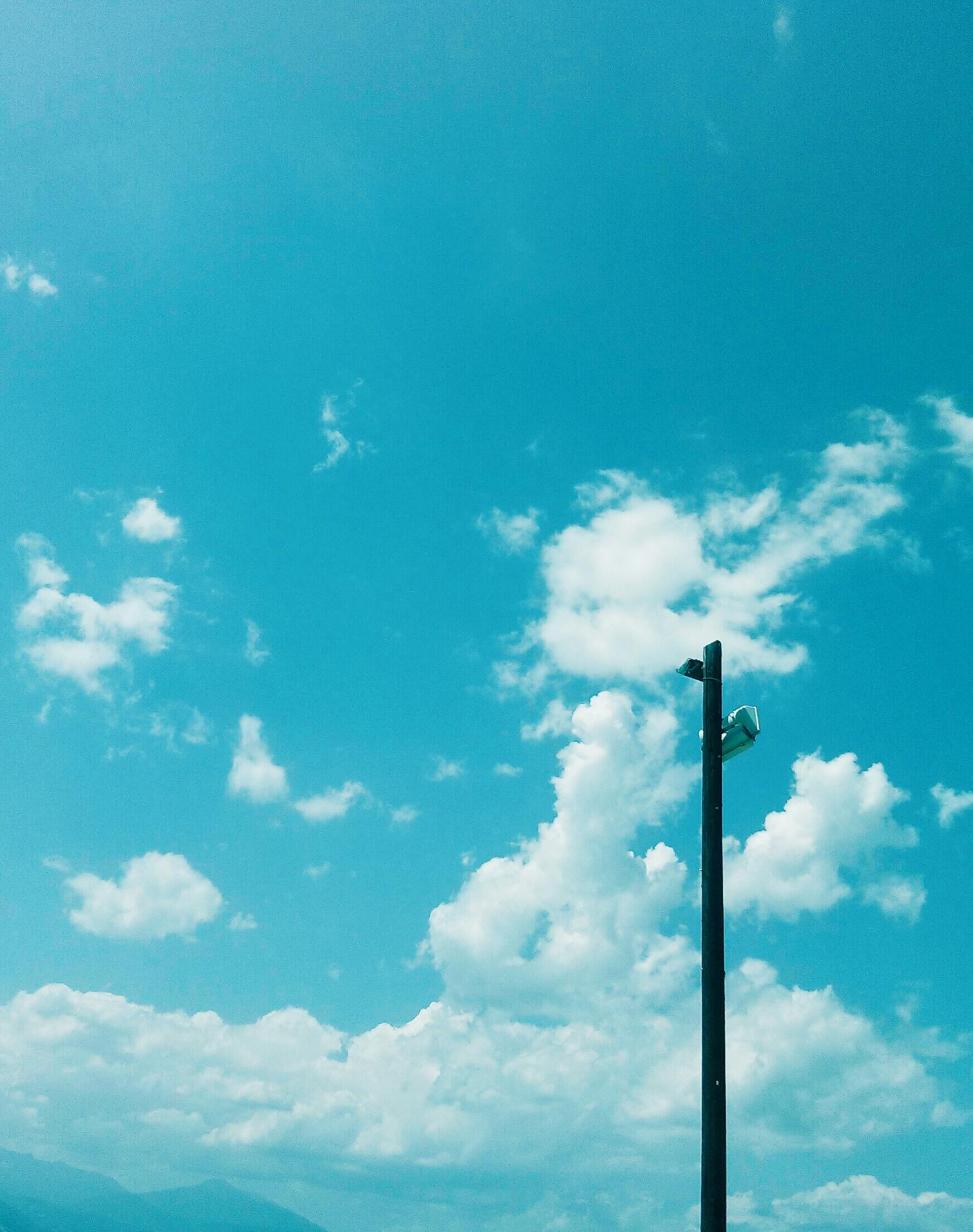 Blue | grig.oris, blue sky, cloud, daylight