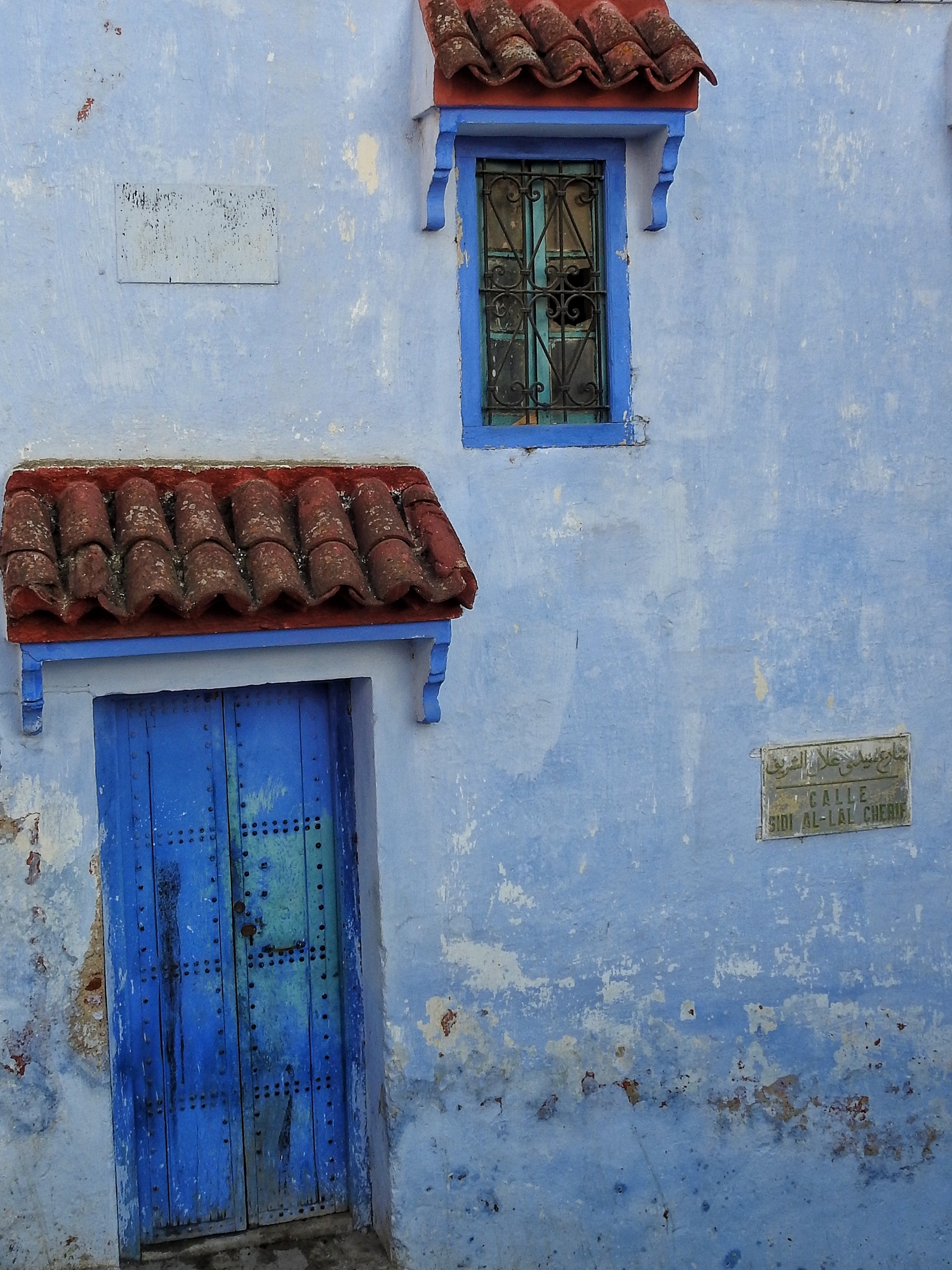 Blue is the color | shec, architecture, building, door