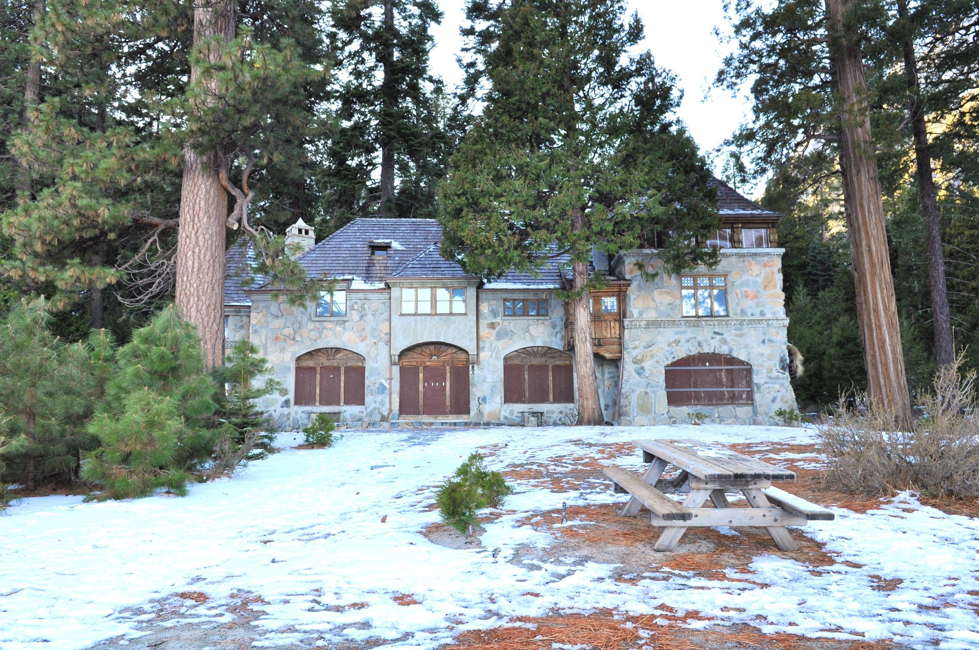 Winter castle | margosha, house, no person, wood