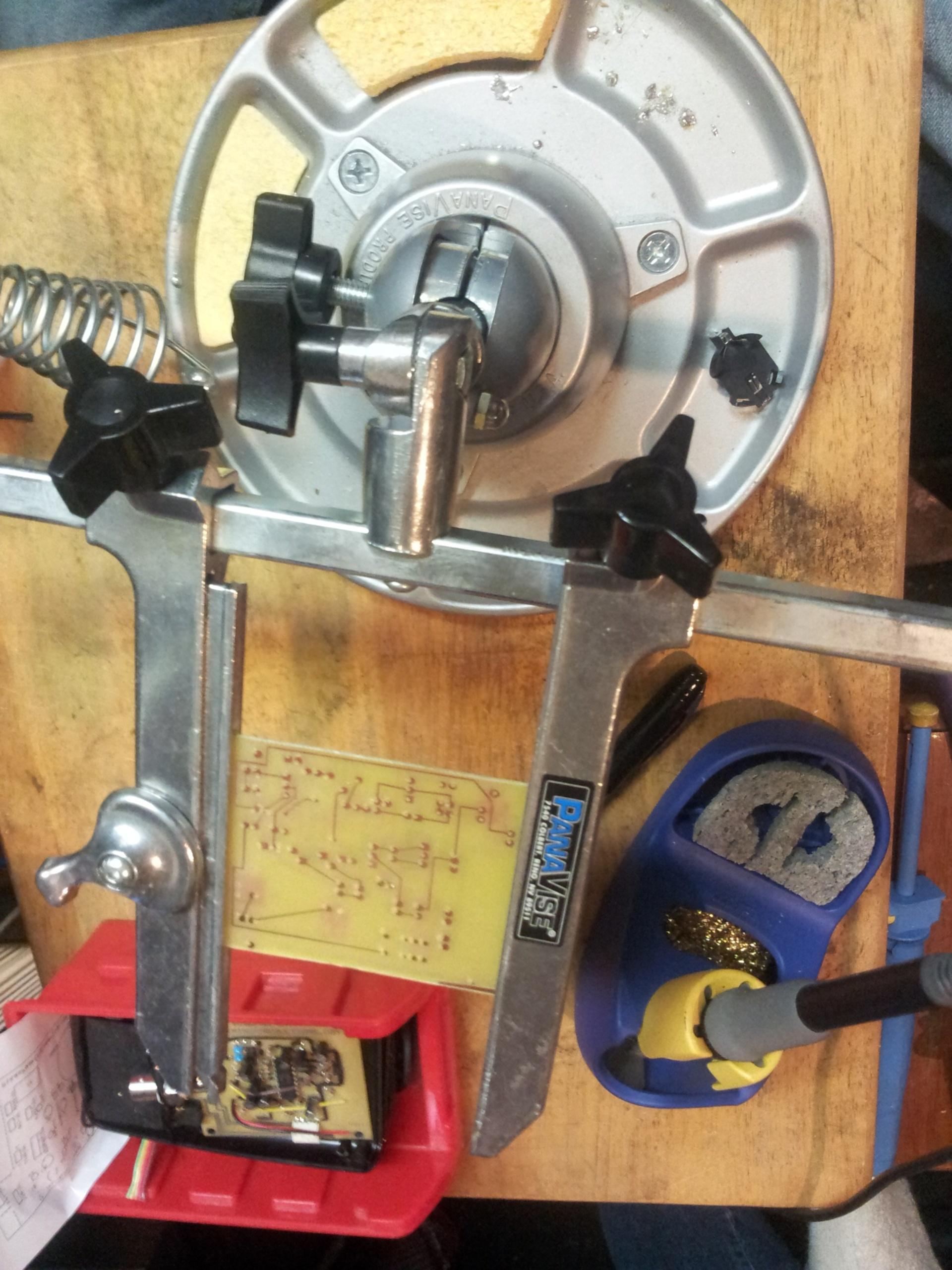 Electronics reworking soldering   gablagloire, design, equipment, technology