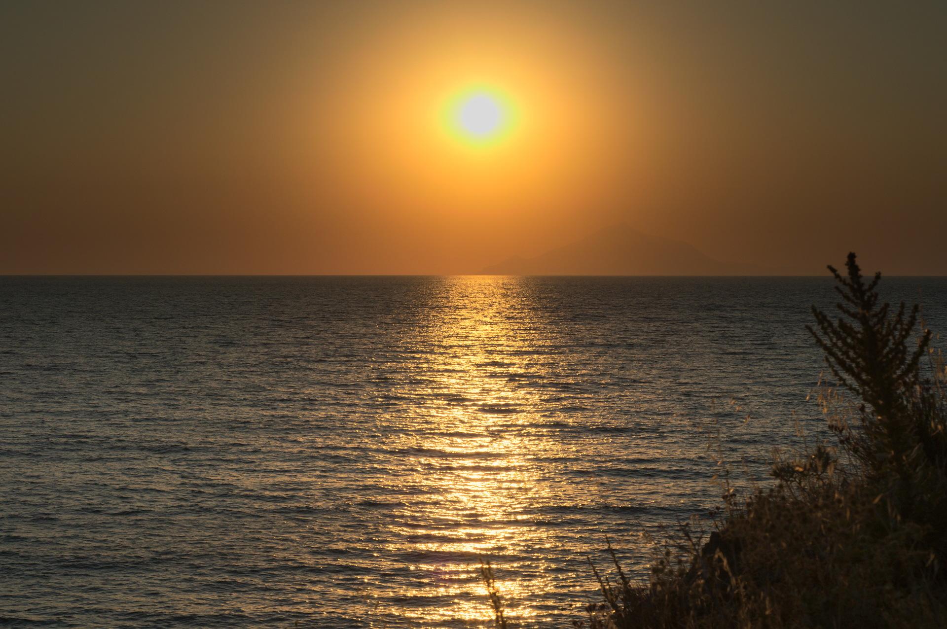 Sunset in Lemnos (Greece | dimitris1268, sunset, sun, beach