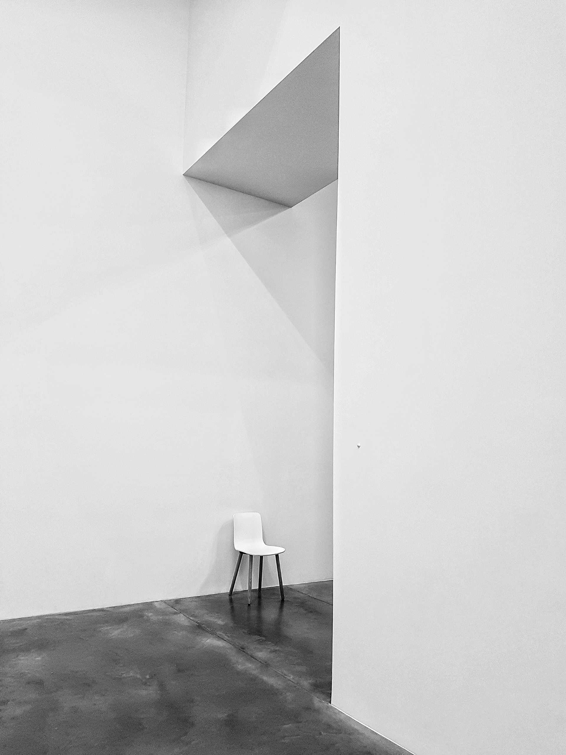white chair | sarinita, abstract, architecture, empty