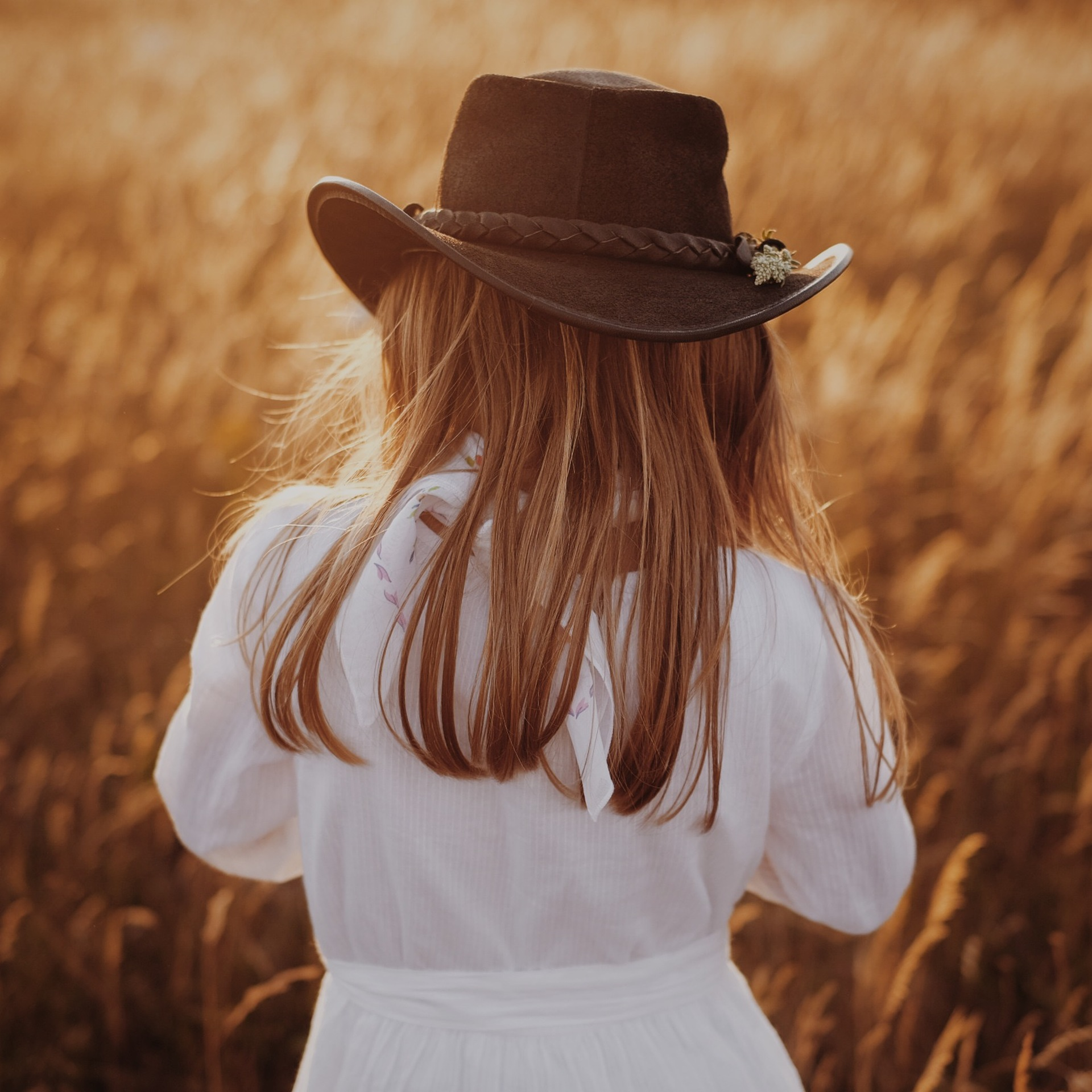 Sunset cowgirl | alidover, fashion, girl, hair