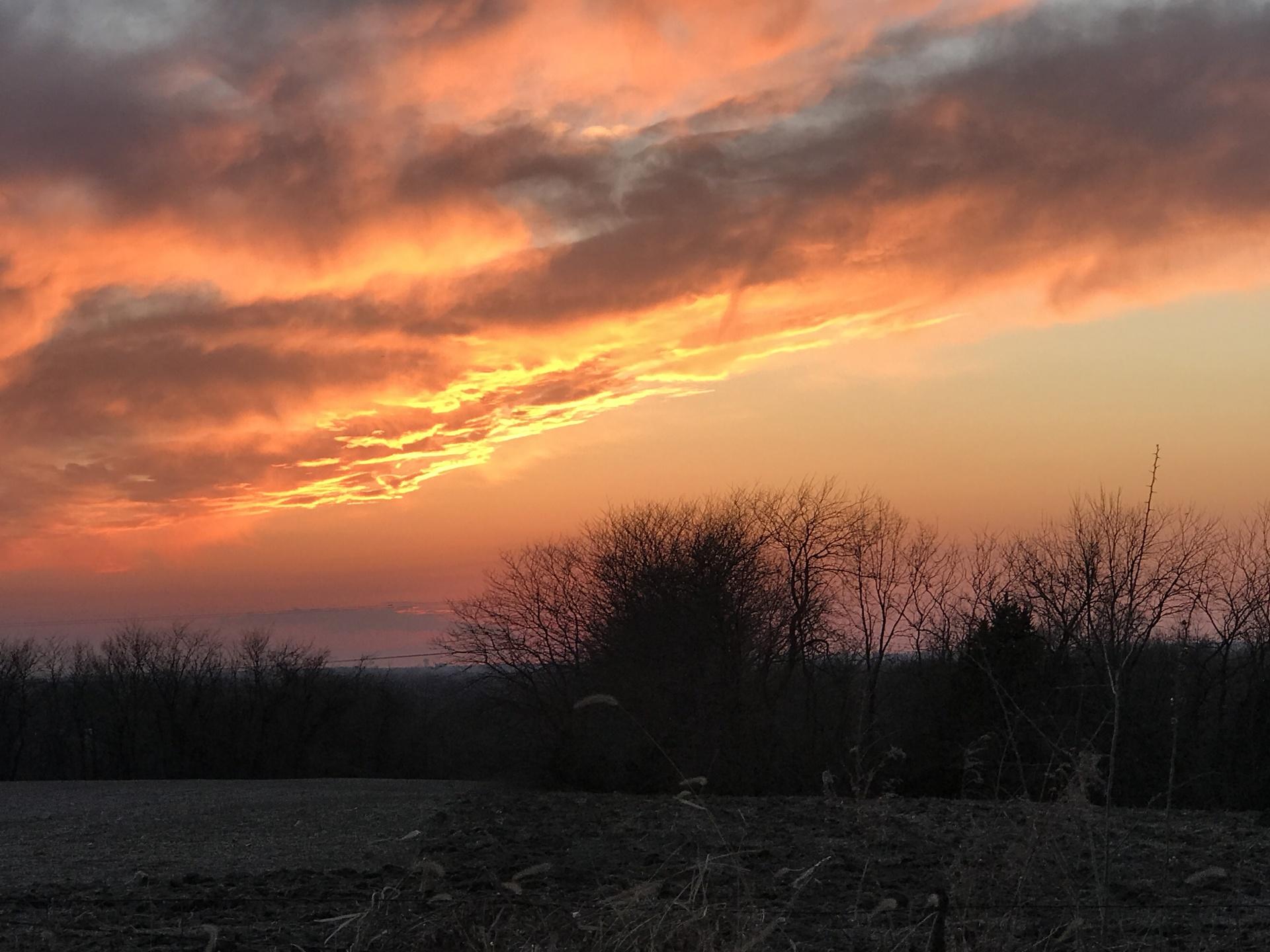 Beautiful, Midwest, Missouri, Sunset | mikeimmer, evening, forest, landscape