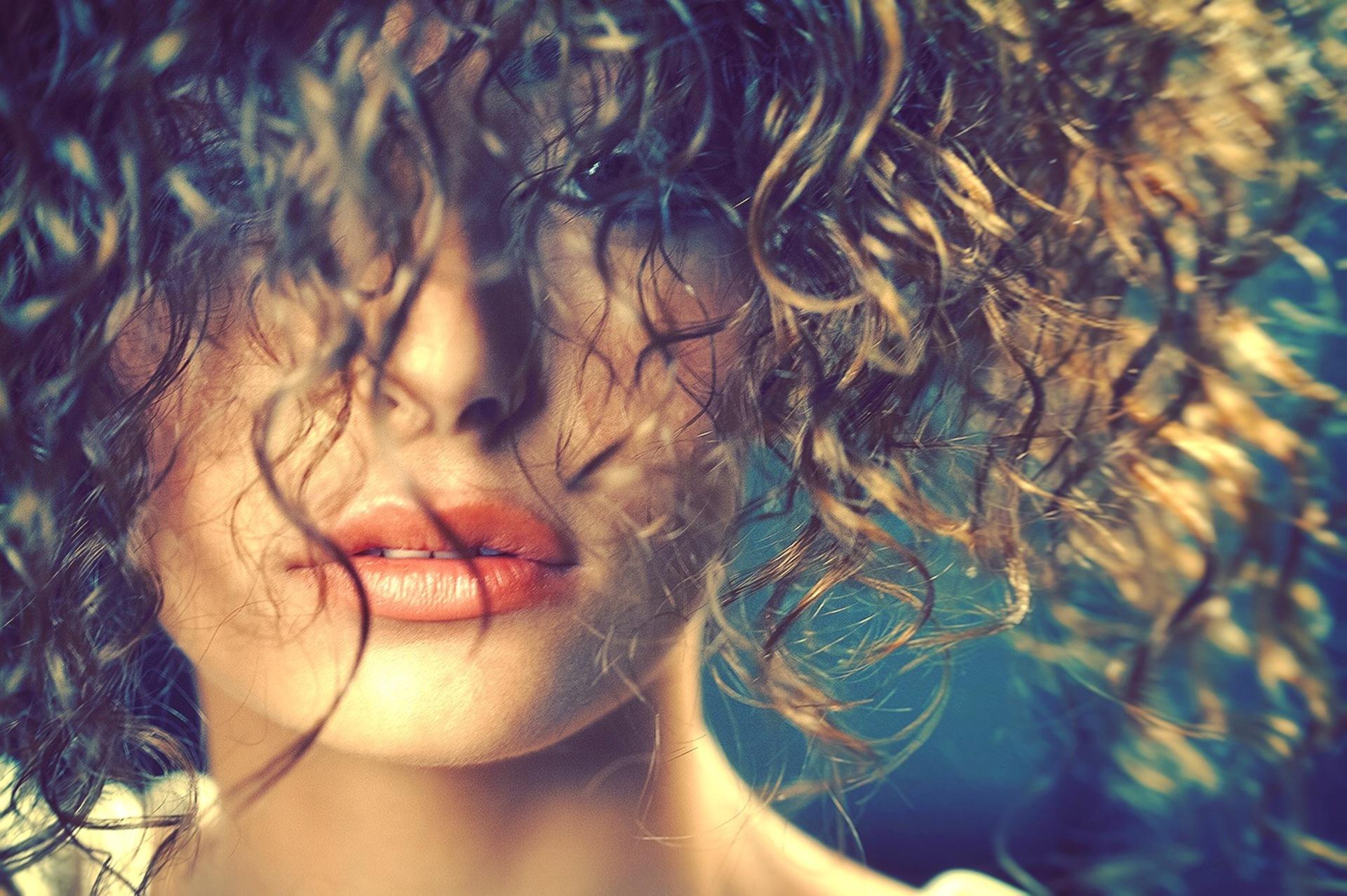 Beautiful woman closeup  | wet, style, light, girl