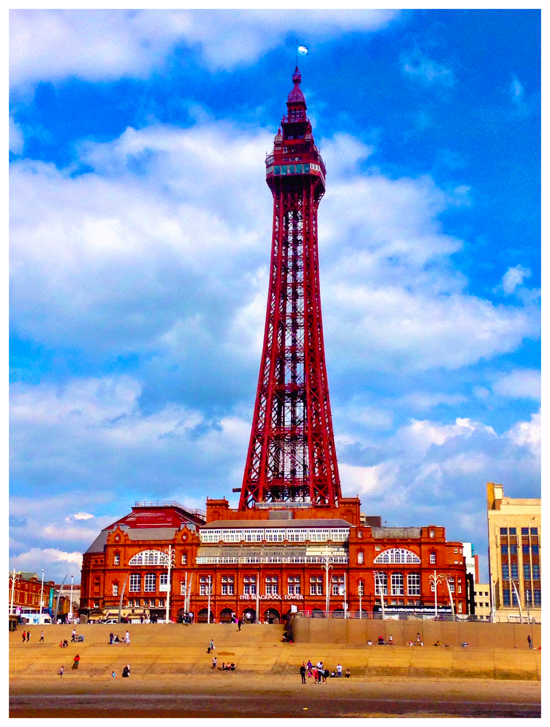 Foap Com Blackpool Tower Blackpool Lancashire Uk Stock