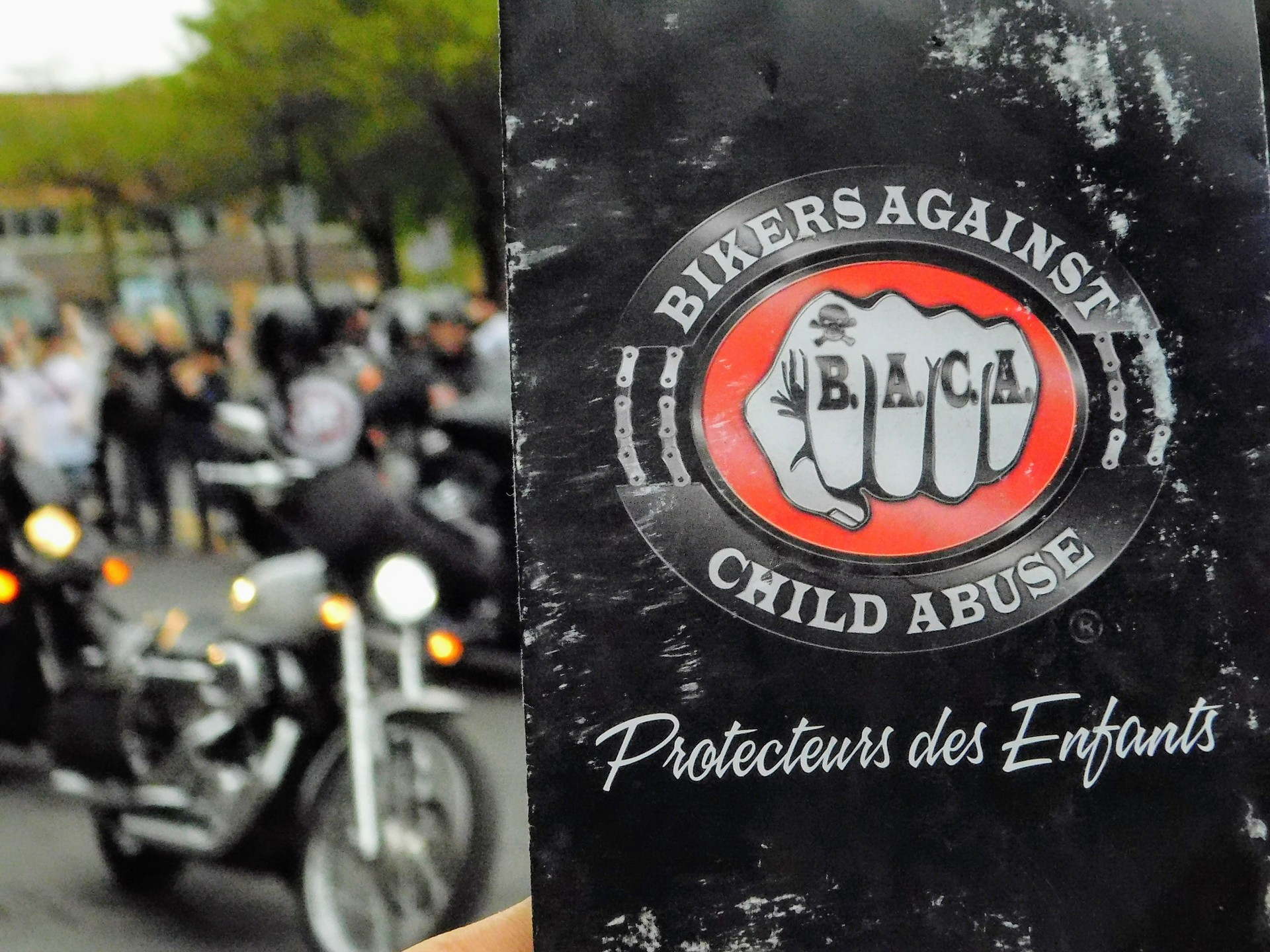 Bikers Against Child Abuse | rick.cognyl.fournier, education, people, rally