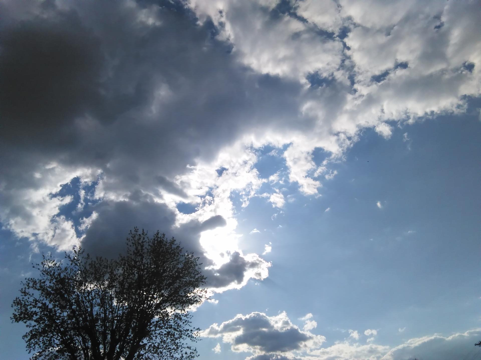 Peekaboo sun | codenamesailorearth, background, heaven, idyllic