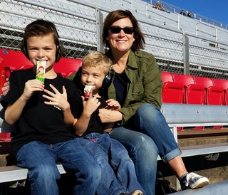 Parents and kids enjoying Buddy Fruits example photo