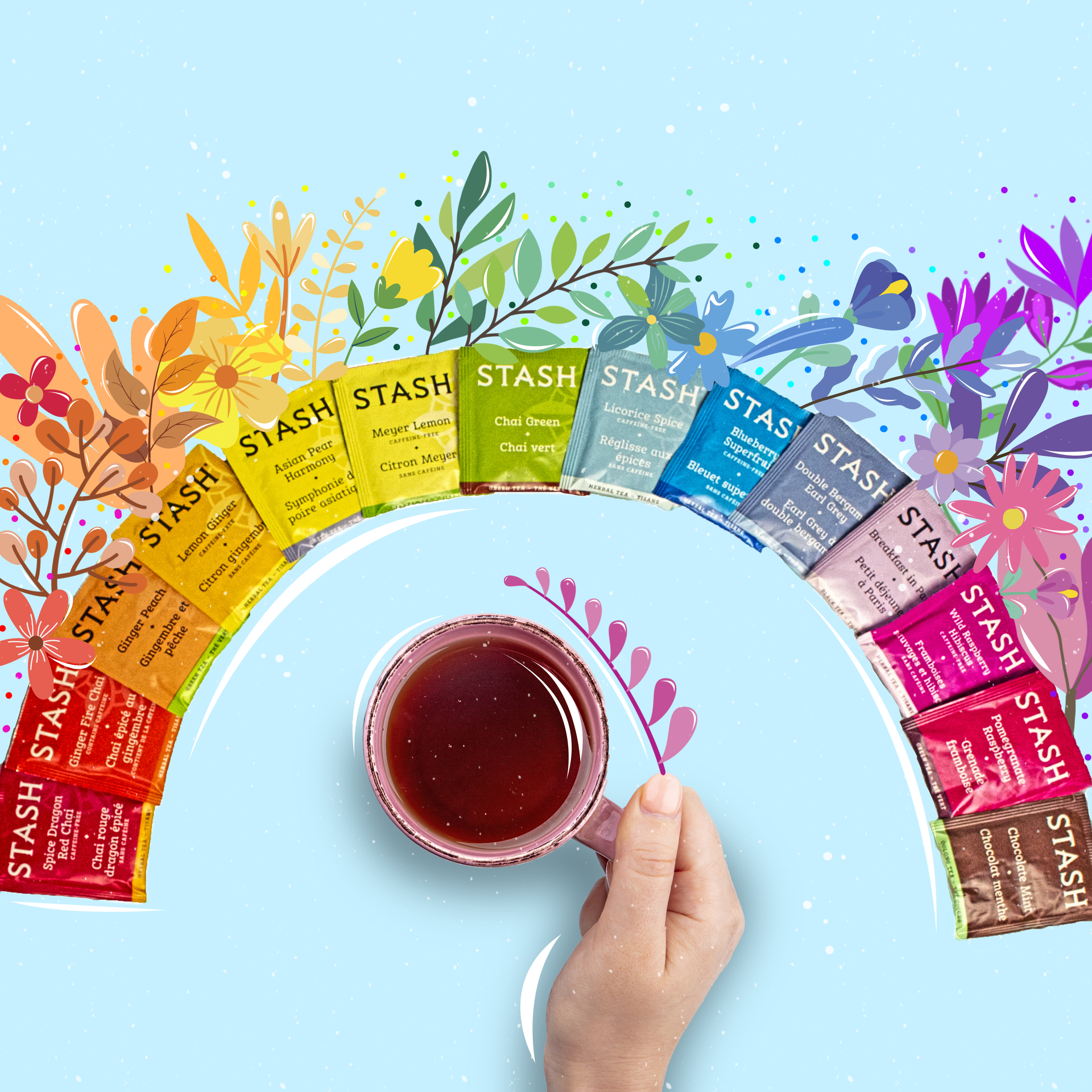 Bold and Bright Stash Tea example photo