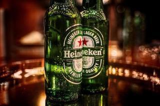 Enjoying your favourite Heineken!  example photo