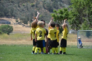 It's soccer time!  example photo
